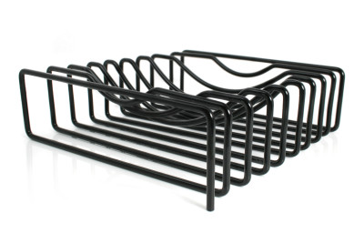 Wire Fruit Bowl Black
