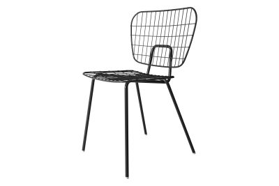 Wm String Dining Chair Dark Green