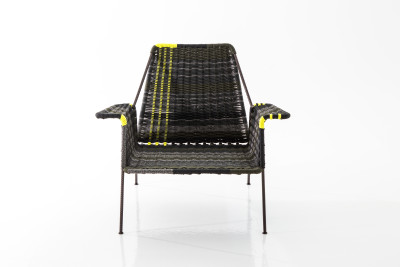 Work is Over Woven Armchair
