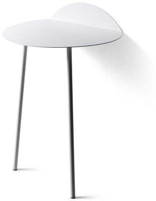 Yeh Wall Table White, High