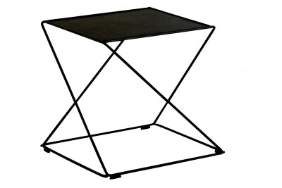 Z Stackable Side Table Black