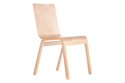 Zipper Stacking Chair Birch