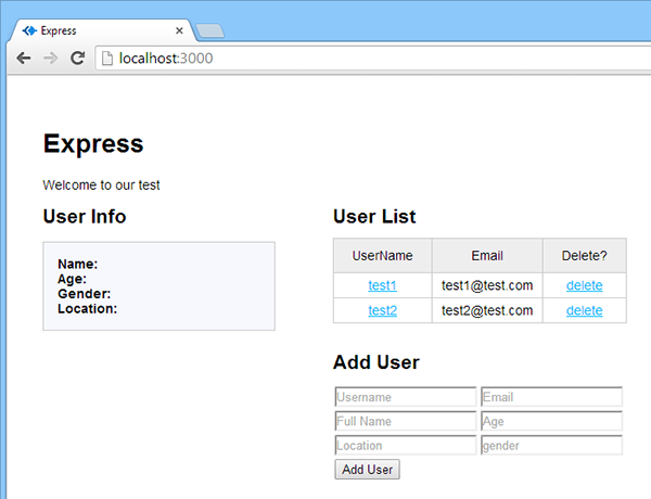 Restful Web App Screenshot 8