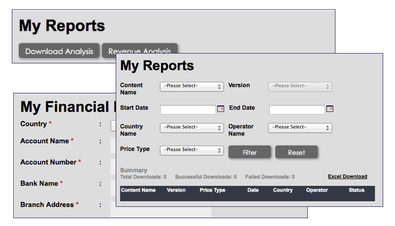 Content Reports