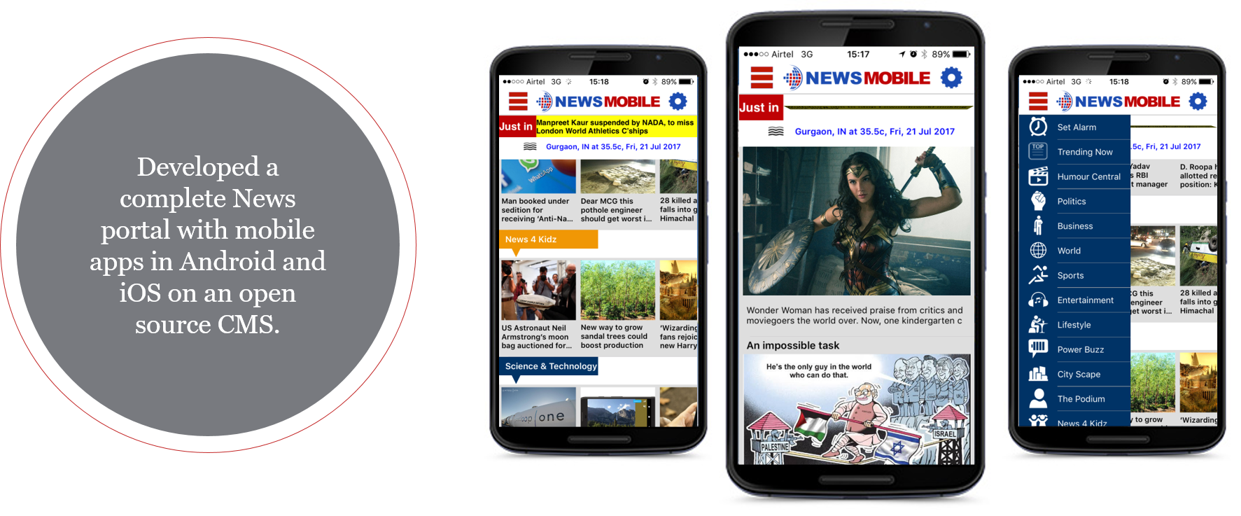 Social News Portal CMS