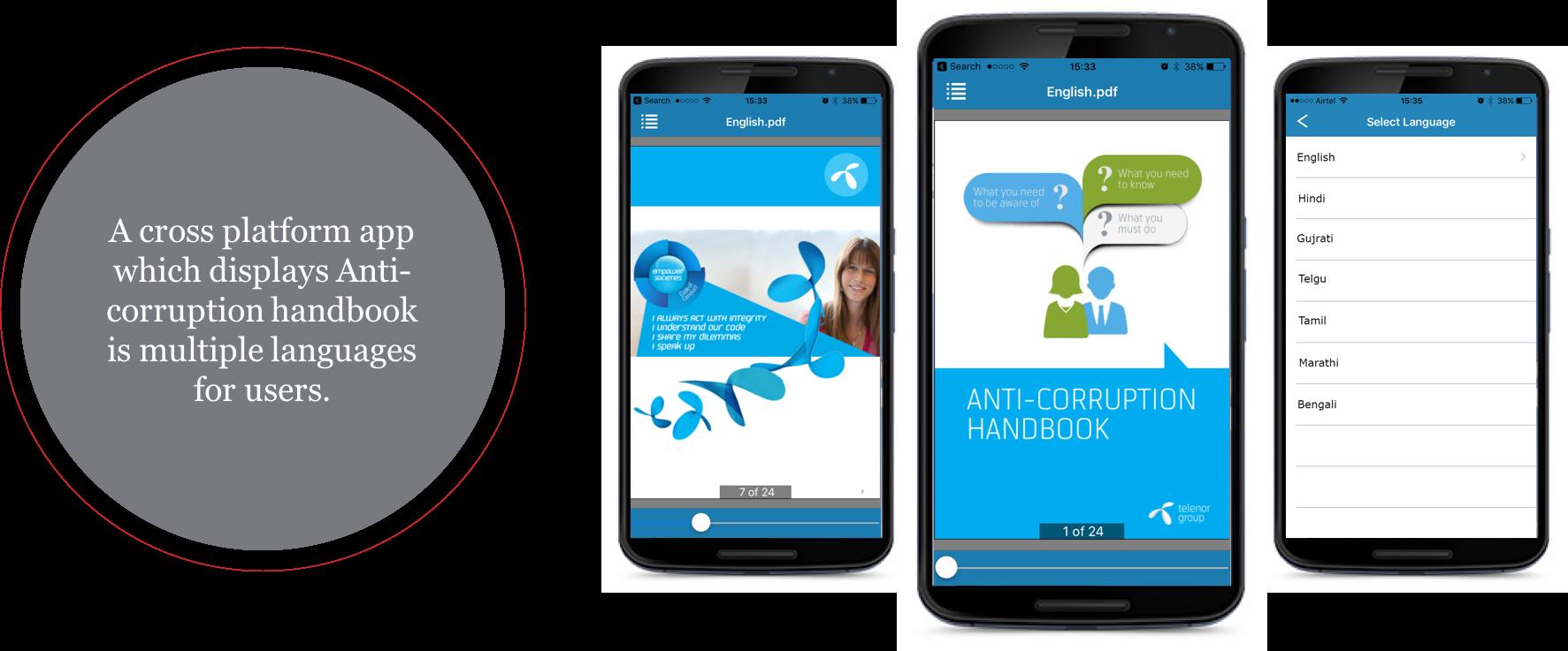 Cross platform HTML5 app phonegap