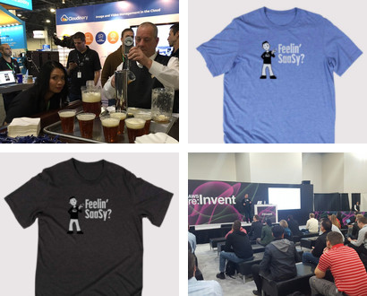 "Re:Invent 2016 ""Feeling Sassy"" collage"