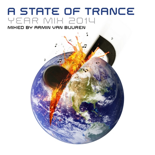 Armin Van Buuren - A State Of Trance Year Mix 2014 (front)