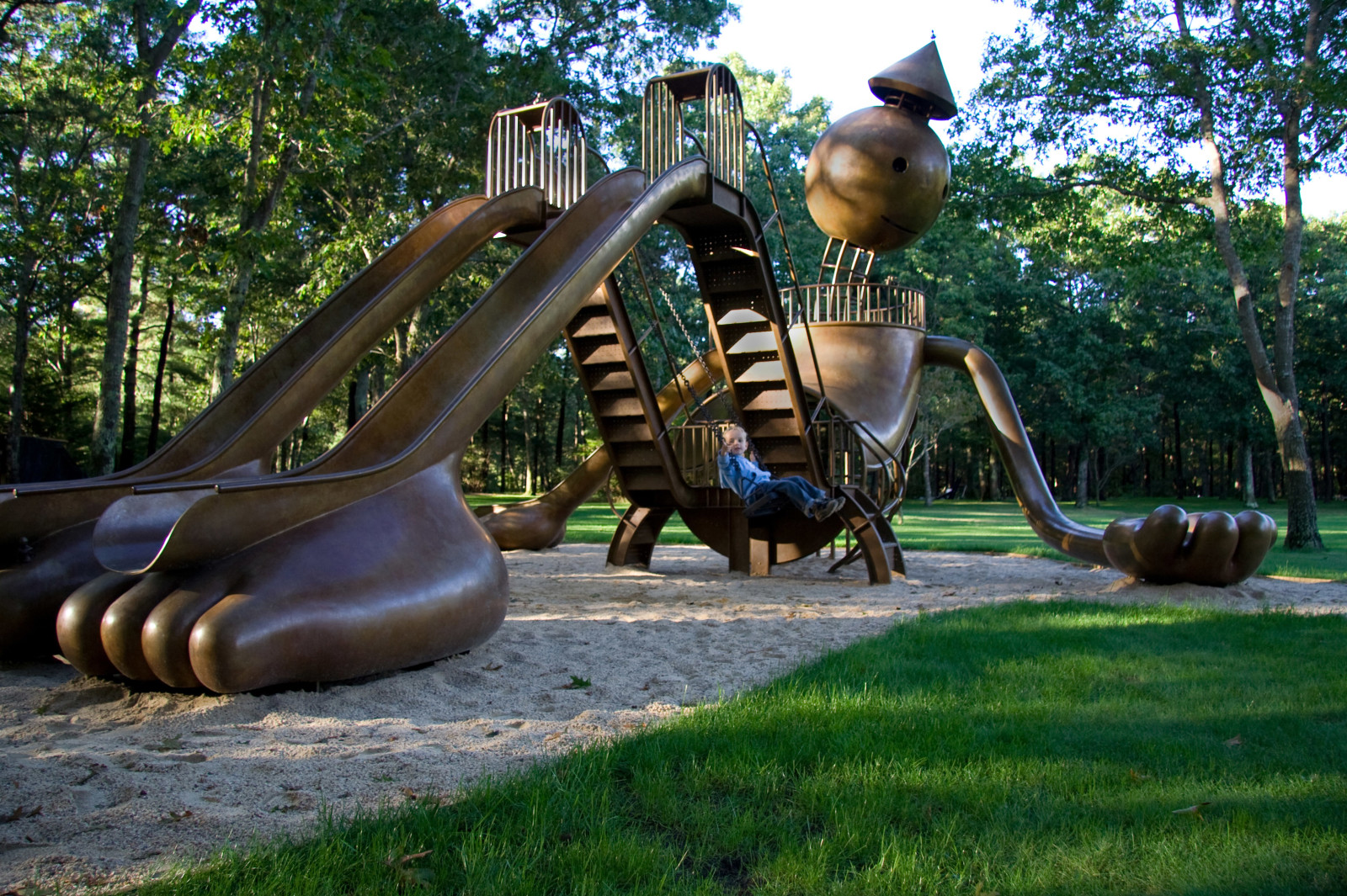 "Tom Otterness ""Playground"""