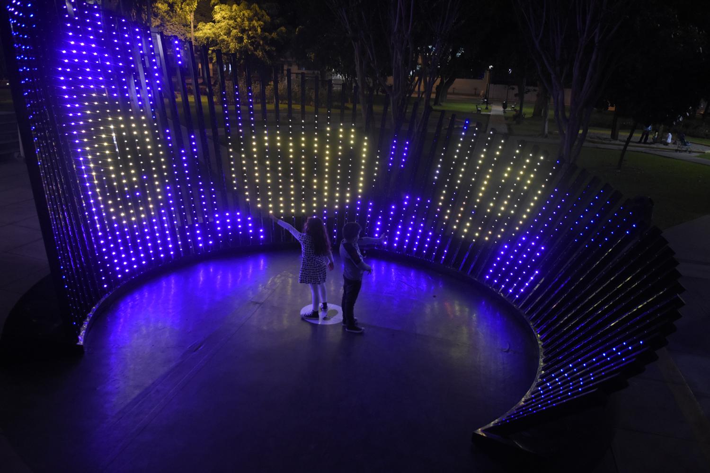 Pixel Flow by Claudia Paz Lighting Studio - CODAworx