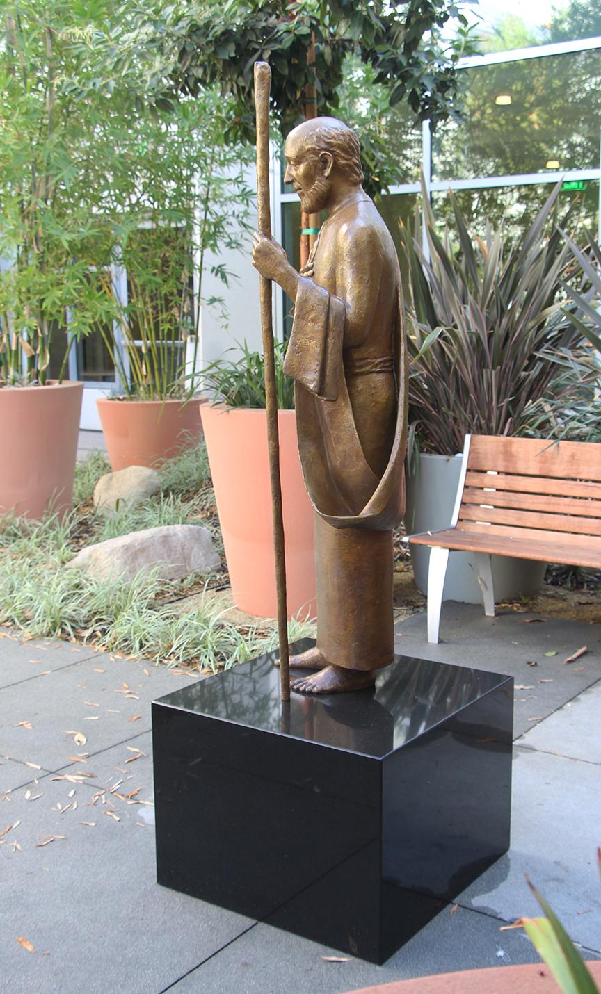 Karen Schmidt Sculpture's St. Jude in Healing Garden