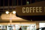 川崎駅でコーヒーミーティング