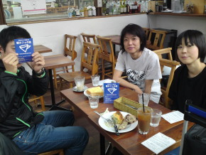 4/20小竹向原まちのパーラーで朝カフェの会のレポート