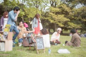 本とピクニック(アートブックとピクニックを楽しむ会)※※4/20時点、他での募集の方も含め25名の参加予定のレポート