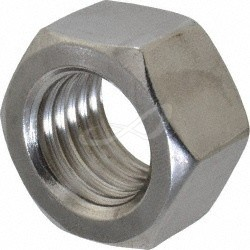1-1/2-6 Hex Finished Nut Stainless Steel