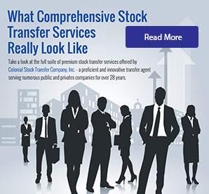 comprehensive stock transfer agent