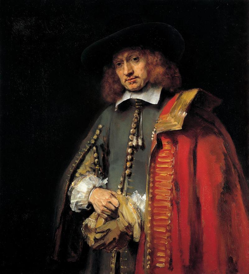 Portrait of Jan Six, Rembrandt Harmensz. van Rijn, c. 1654