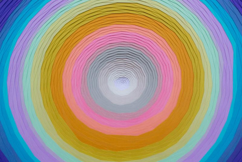 SPIRALE-11-2014-Paper-sculpture-Personal-work