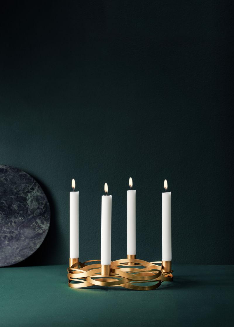 Kerzenleuchter Tangle von Stelton