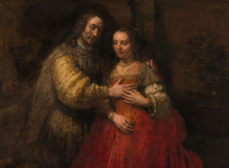 De-Joodse-bruid,-Rijksmuseum
