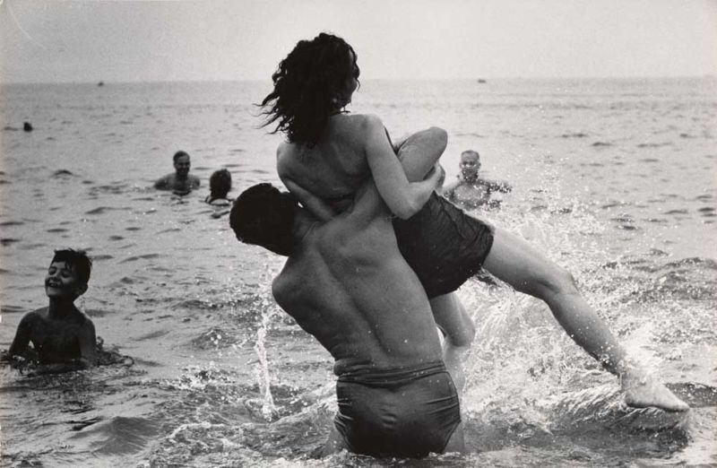 Garry Winogrand (American, 1928–1984) Coney Island, New York ca. 1952 Gelatin silver print The Museum of Modern Art, New York. Purchase and gift of Barbara Schwartz in memory of Eugene M. Schwartz