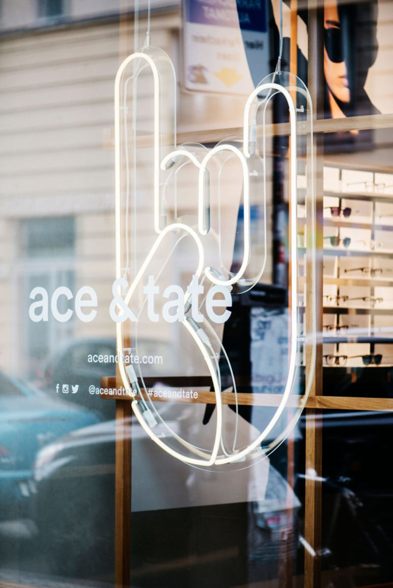 Ace and Tate eins