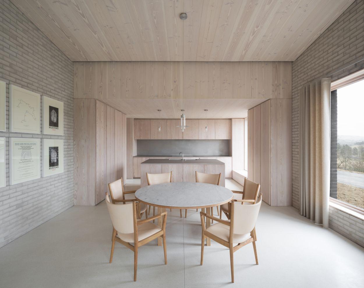 John Pawson, Living Architecture, The Life House, Lebenshaus, Holzdecke