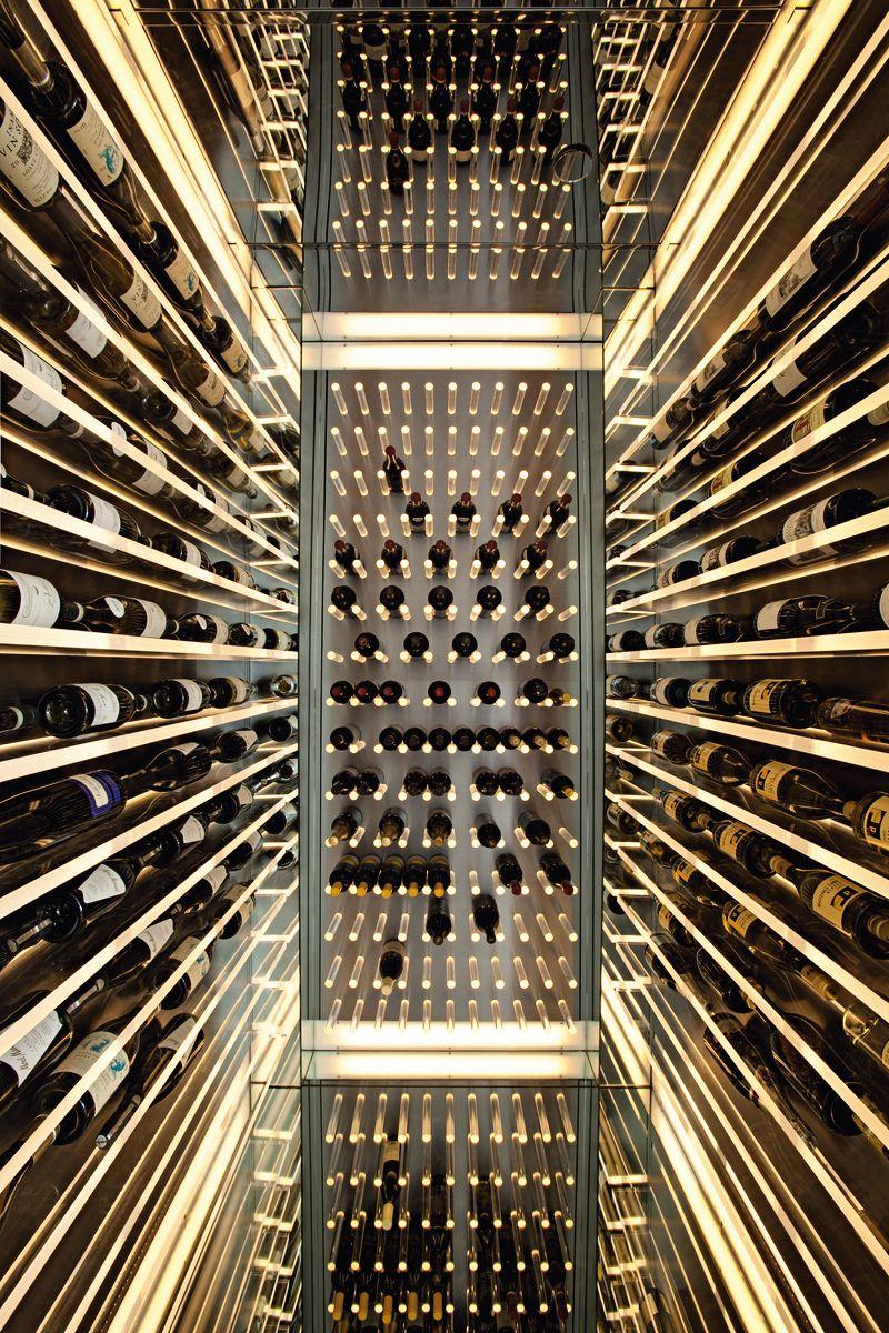 Weinlagerung Infinity Wine Cellar