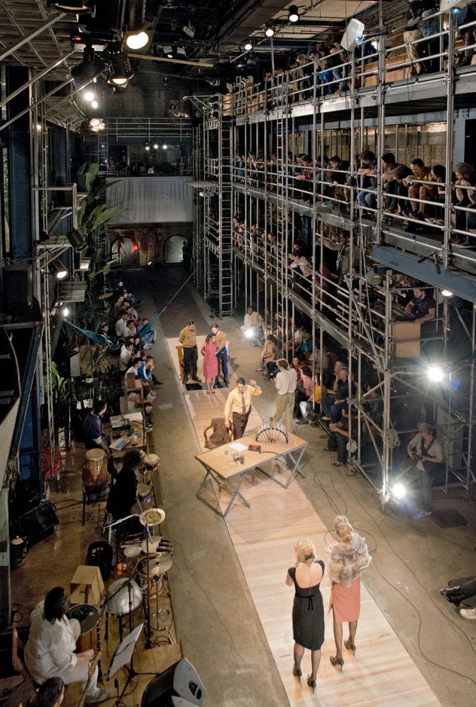 Teatro Oficina, São Paulo, Bühne mit Zuschauerebene, 1984-1989