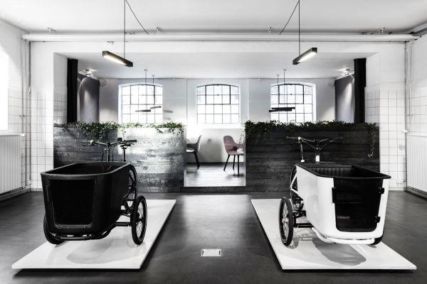 Der Showroom von Butchers & Bycicles in Kopenhagen.