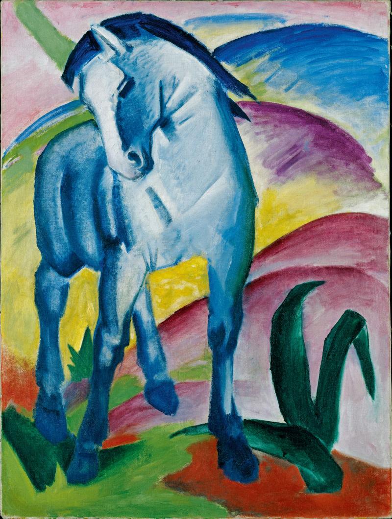 Franz_Marc_Blaues_Pferd_I__1911___c__Lenbachhaus_A5