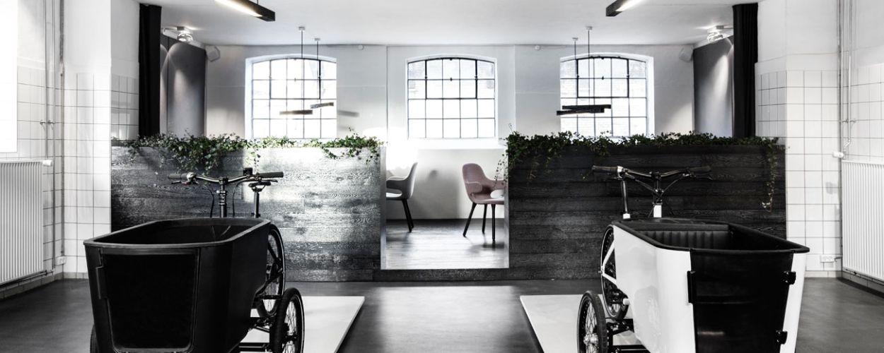 Der Showroom von Butchers & Bycicles in Kopenhagen.