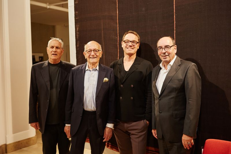 Werner Weber, Prof. Galloway, Oliver Jahn, Georg Böhmler