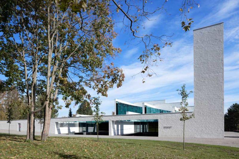 Avanto Architects, Neue Friedhofskapelle von St. Lawrence, Vantaa