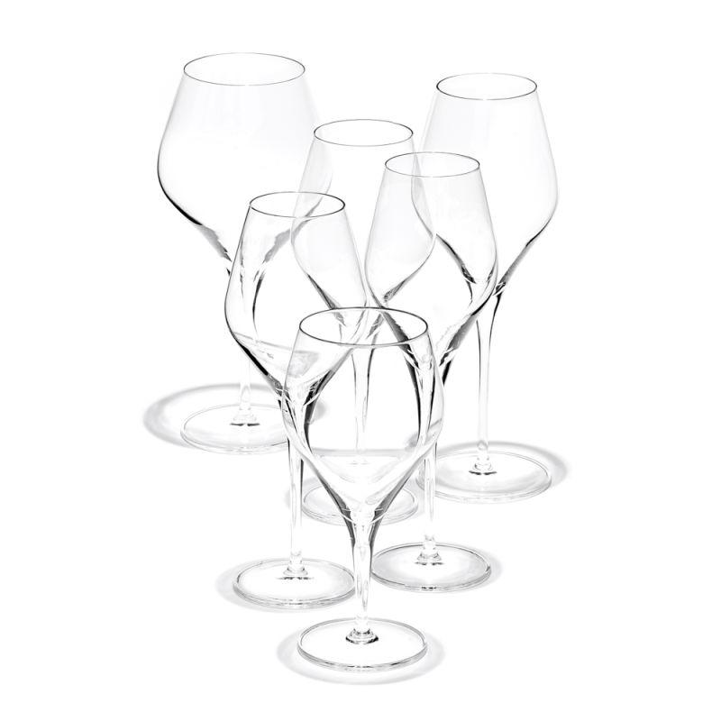"""""""Finesse"""", Irmgard Braun-Ditzen für Zwiesel-Kristallglas."""