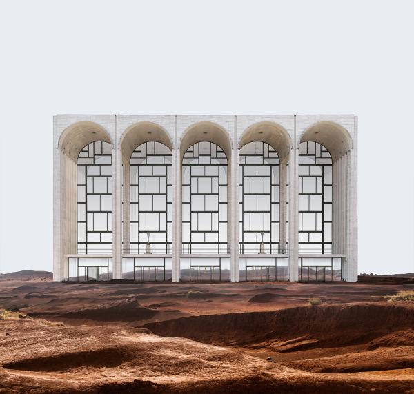 Die Metropolitan Opera, eigentlich am Lincoln Center Plaza in New York.