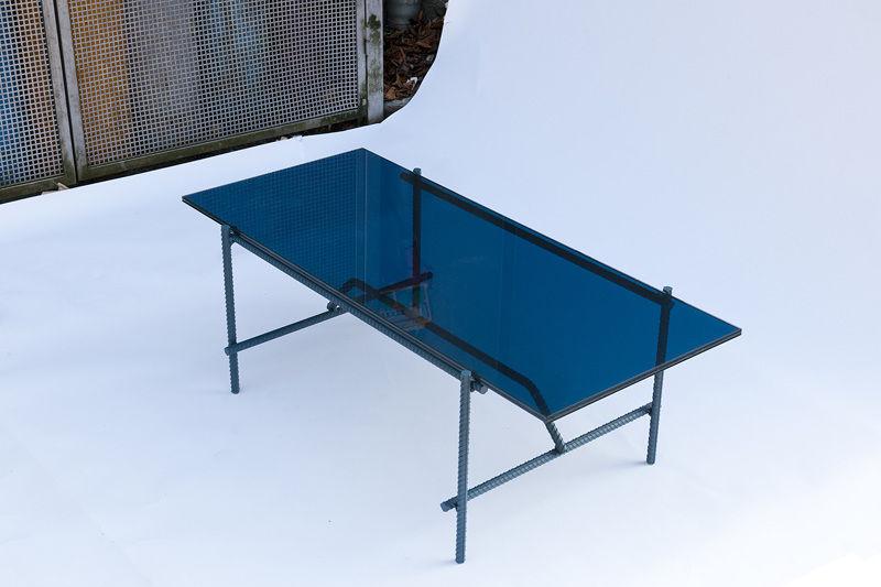 Glass Table Kroyer Saetter Lassen