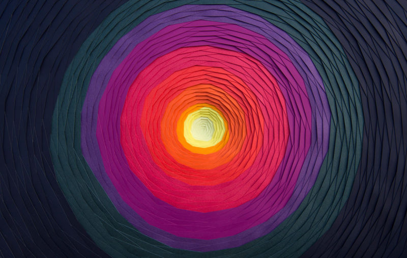 Spirale-10-2014-Paper-sculpture-Personal-work