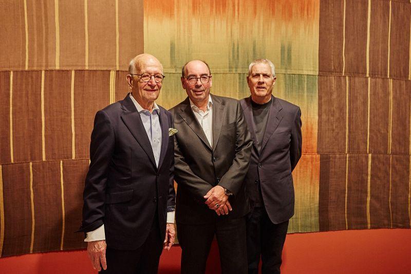 v.l.n.r.: Prof. Dr. David Galloway, Georg Böhmler, Werner Weber