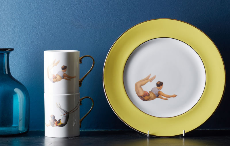 Melody-Rose-In-Colour-Trapeze-Plates-crop-yellow