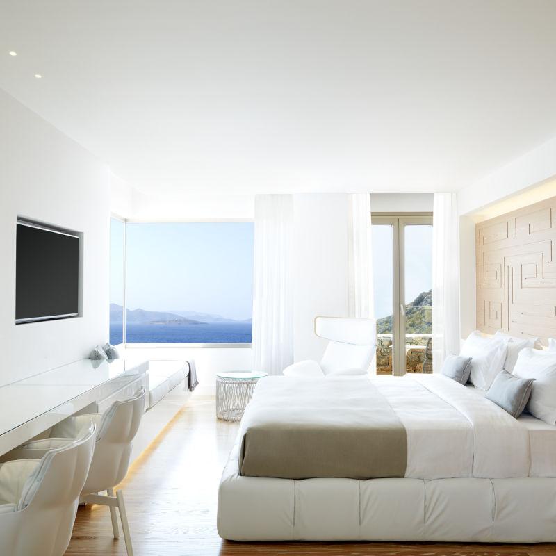 The Mansion, Hotelzimmer