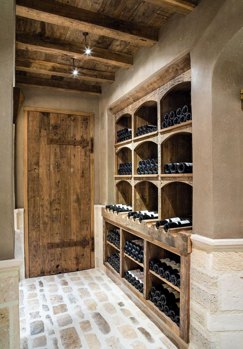 Weinlagerung Bourgondisch Kruis