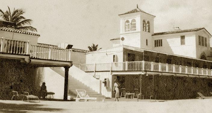 The Surf Club, historische Ansicht