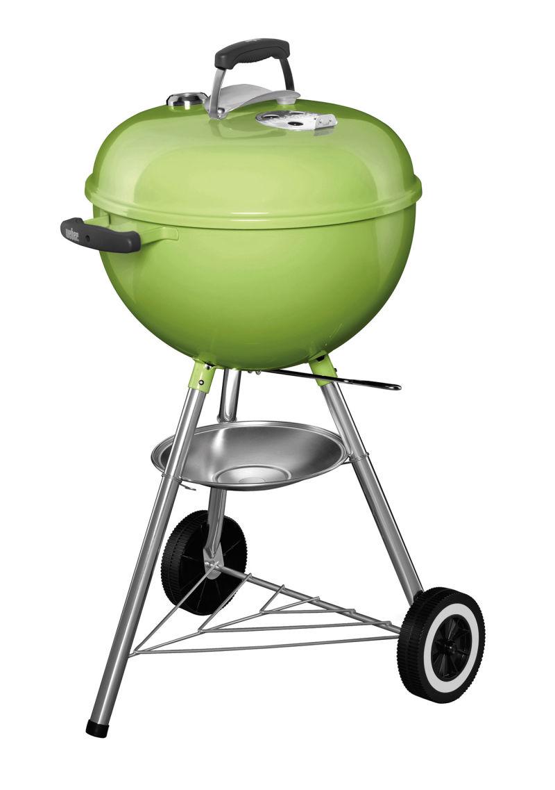 Weber Grill grün