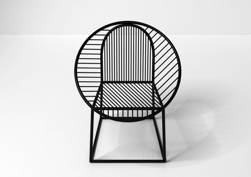"""Pools """"Circle""""-Stuhl für Gallery S. Bensimon, Preis auf Anfrage."""