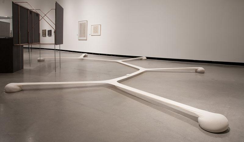 Ernesto Neto: Minimal Surface of a Body Evolution on a Field, 2007