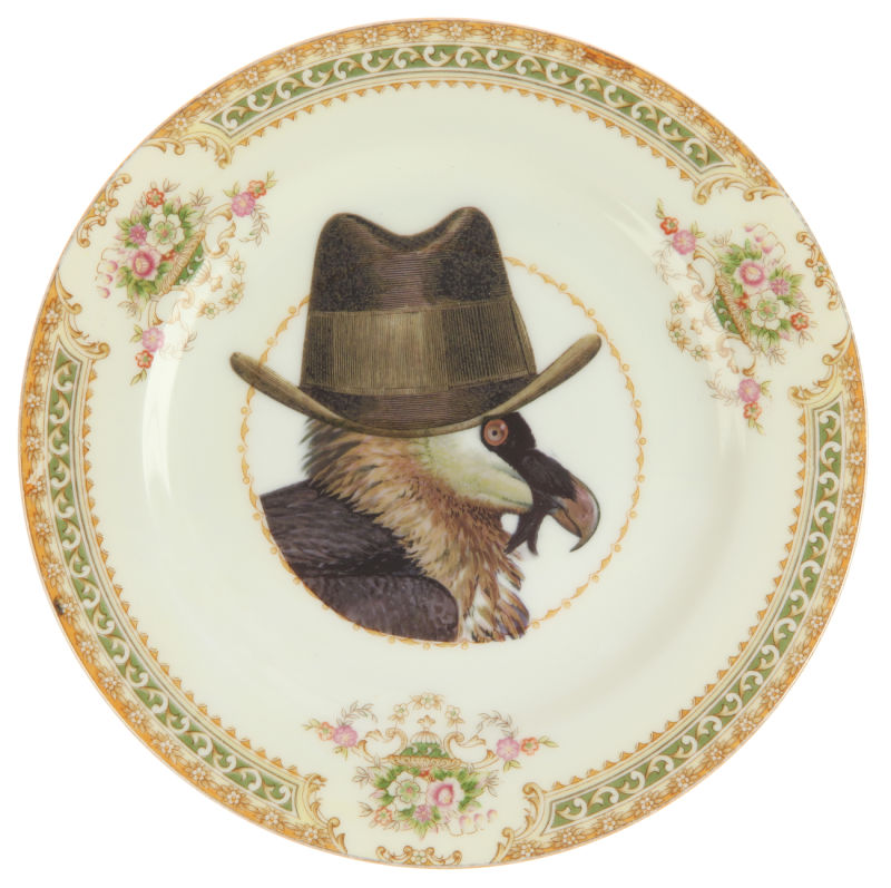 Upcycled-Vintage-Vulture-Side-Plate