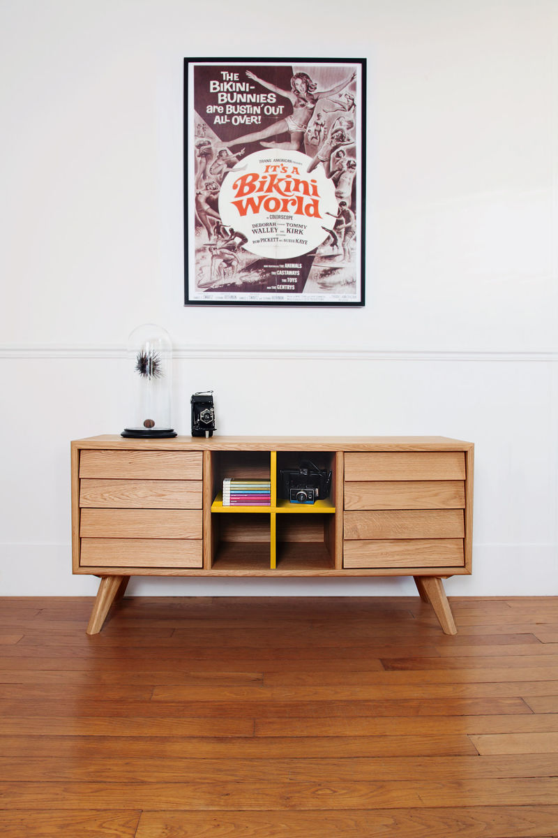 The Hansen Family: Sideboard