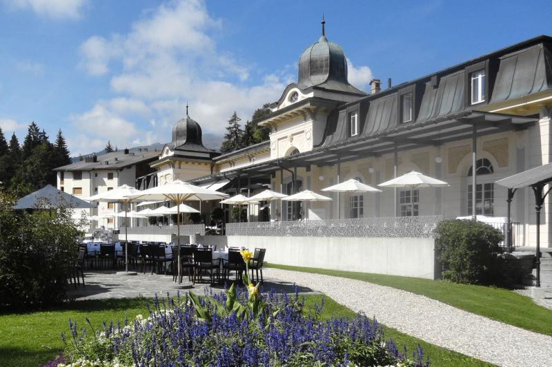 Waldhaus-Flims_Jugendstill-Pavillon_Sommer_Terrasse