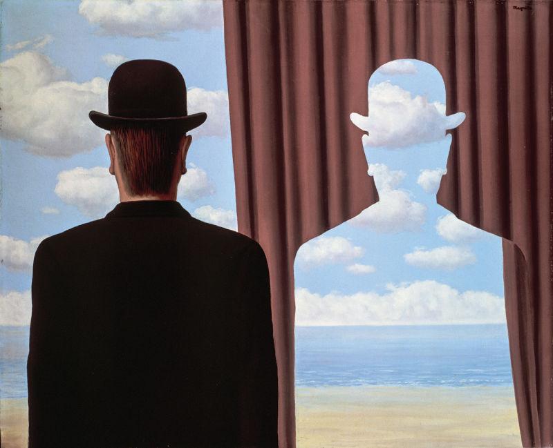 René Magritte, Décalcomanie, 1966, VG BILD-KUNST, Bonn 2017